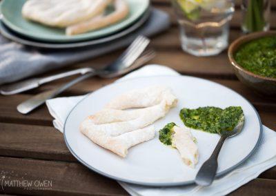 Matthew Owen Food Photography  |  Pesto and fougasse