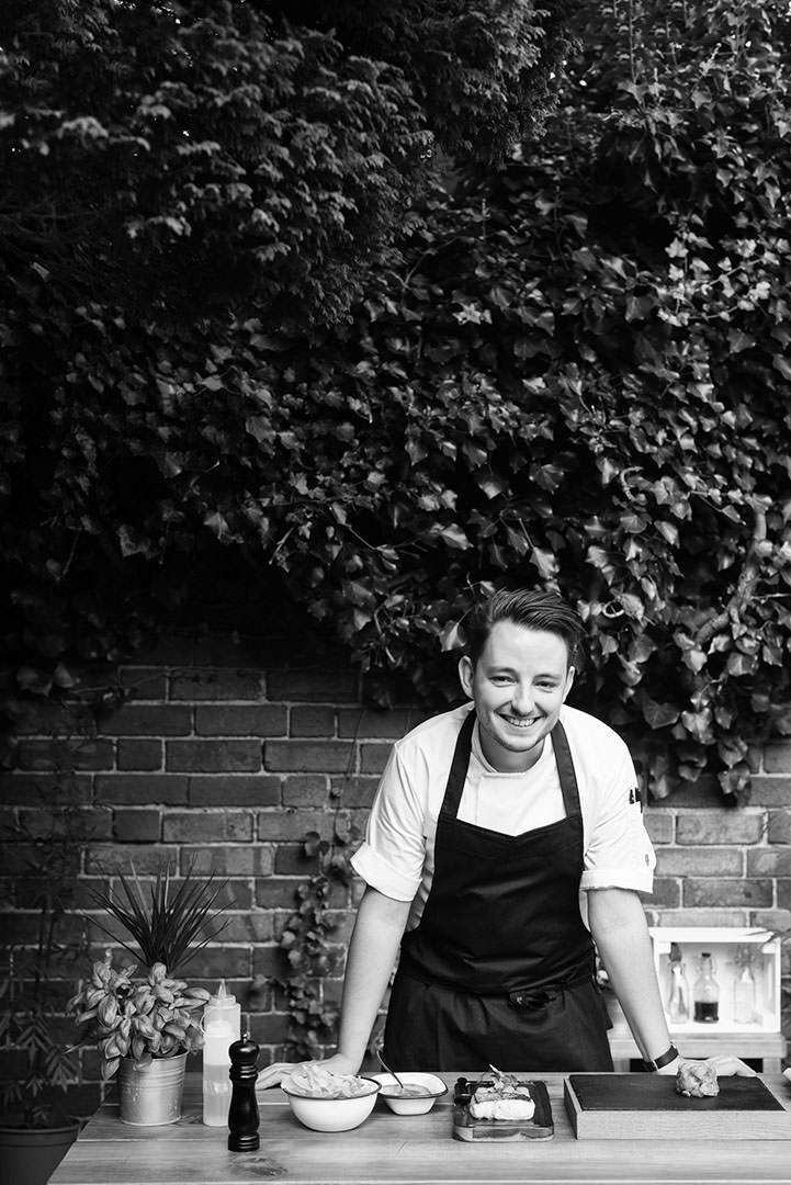 Chef Portrait - Jake Lowndes (Little Seeds)