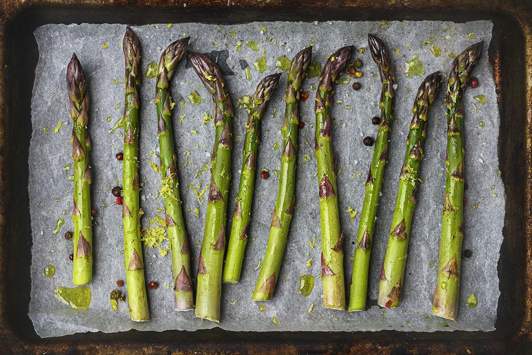 Seasonal British Asparagus